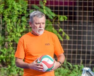 Volleyball coach pleased with local response