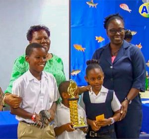 Sandy Bay takes first place in schools'  Garden Competition
