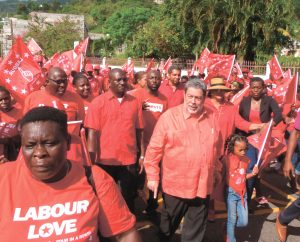 Unity Labour Party celebrates in style 18 years of Government (+ Video)