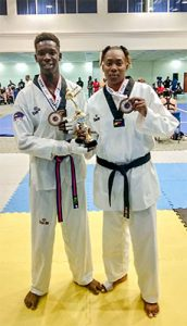 Yom Chi Taekwondo Club racks up 13 medals at Burning Martial Arts festival in Barbados