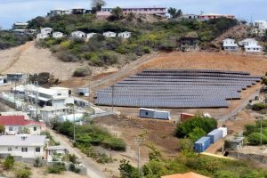 Historic Day on Union Island with electricity produced solely from solar