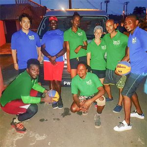 Mini – basketball coaching caravan forging ahead