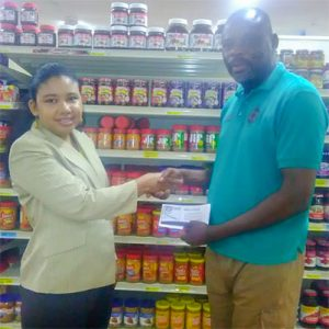 Massy Stores SVG gives back to customers