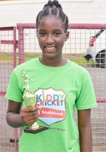 Top Performers in Kiddy Cricket skills festival  receive awards