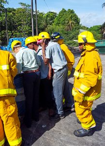 Vinlec and rsvg fire Department partner for firefighting simulation