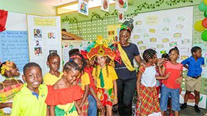 Pupils of C W Prescod Primary explore cultures of English Speaking Caribbean