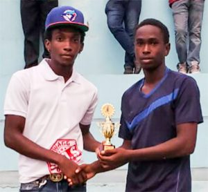 Awards distributed in Biabou Football League 2019