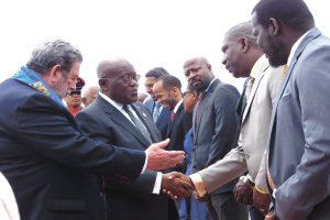 Ghana's President invites Vincentians to visit homeland (+Video)