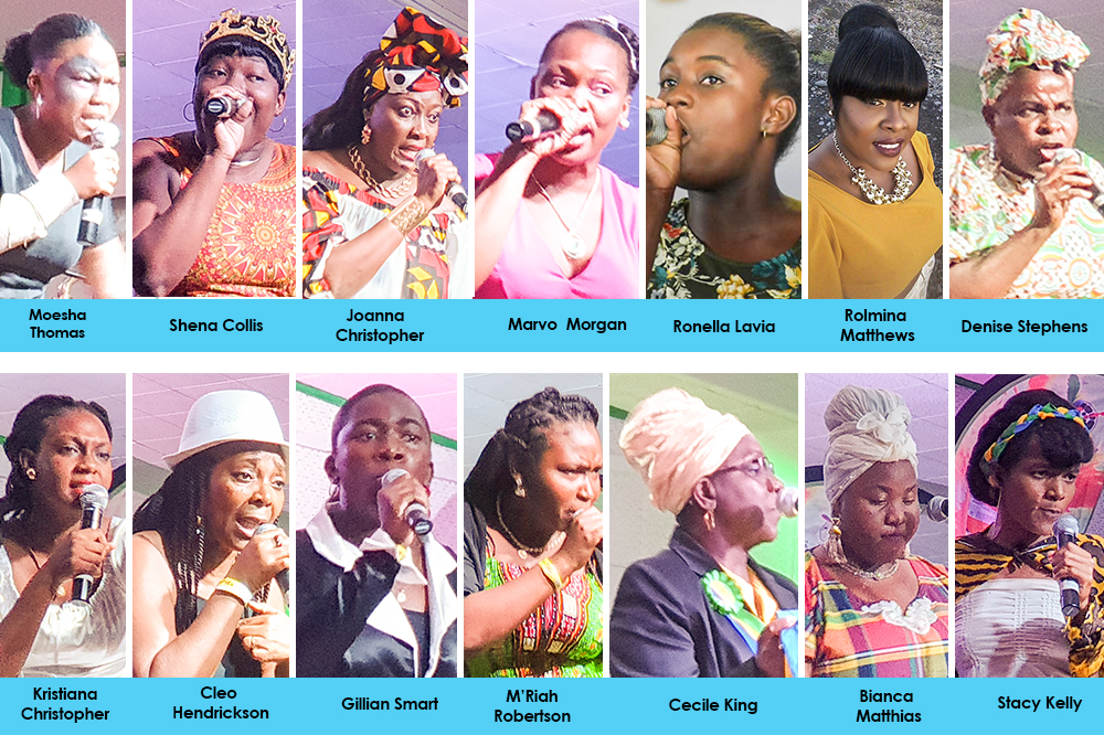 Persistent Shaunelle wins National Queen of Calypso competition
