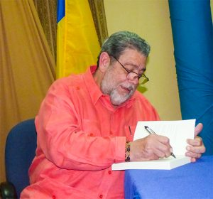 PM pens book on SVG's Labour Movement