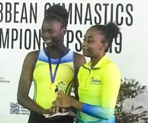 Vincentian gymnasts return from two-day Caribbean Gymnastics Championships