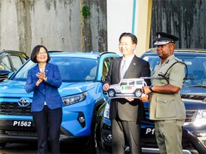 President of Taiwan visits SVG as part of Caribbean 4-nation tour