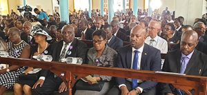 Outstanding politician gets stately send-off