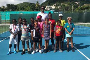 SVGTA Tennis Fest  winners emerge