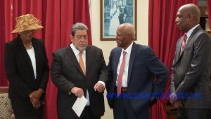 SVG's First Female Head of State Sworn In