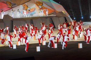 SVG part of impressive XVIII Pan American Games opening