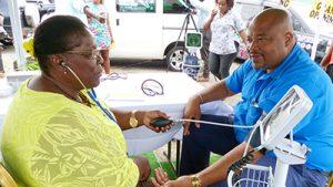 Funeral home hosts health fair