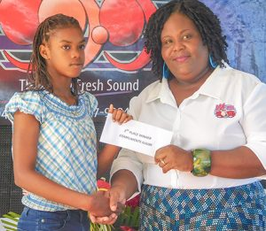 GHS student places first in WE FM Reading Challenge Competition