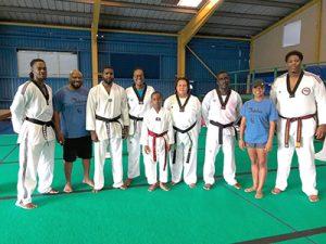 Six members of Dolphin Taekwondo club improve ranking