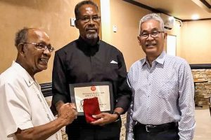 Vincentians inducted into International Karate  Daigaku Hall of Fame