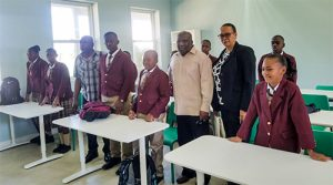 New Secondary School opens on Canouan with 19 students