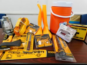 Six win disaster  preparedness kits in Searchlight's competition