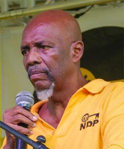 Former NDP leader giving way in East Kingstown