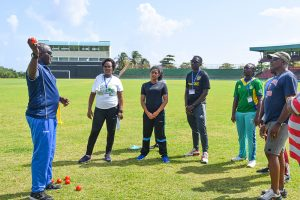 Local cricket coaches get foundation