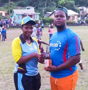 Ball Burners win North Leeward women's 20/20 softball cricket title