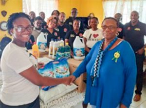SVGTCCU makes donations to vulnerable groups