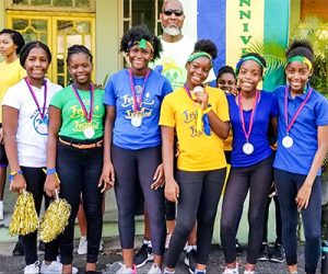 Kingstown Girl Guides hold 'Run 784 Road Relay'
