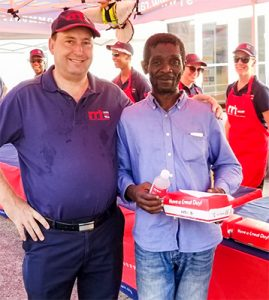 SVG Rapid Relief Team feeds less privileged persons