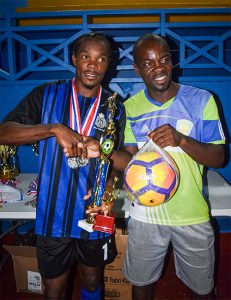 Police Youth Club champs SVGCC  invitational  football title
