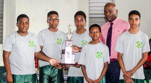 GHS, SVGS retain secondary schools TT team titles