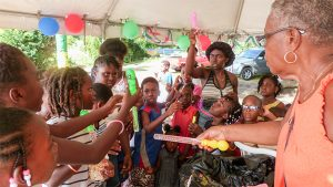 'Questelles Beach Keepers' hold children's Christmas party