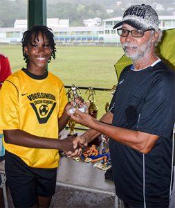 GHS ends unbeaten in Kingstown secondary schools' female football