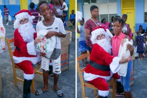 Rotary Club South hosts children's Christmas party in North Leeward