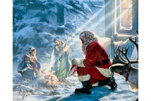 Santa or Christ?