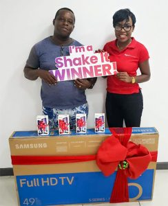 Digicel Shake It To Win - A Favourite with Customers