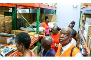 Satellite warehouse in Marriaqua officially opens