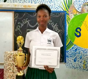 JP Eustace Memorial Secondary School hosts third annual public speaking competition