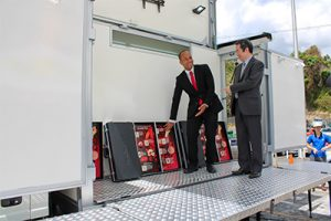 Taiwan hands over equipment to help fight  various diseases