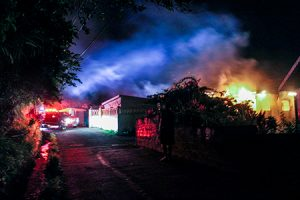 No injuries in Our Lady of Guadalupe Home fire