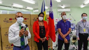 Taiwan donates second batch of medical supplies to SVG
