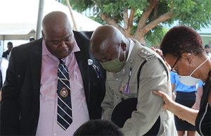 Sergeant 209 Philbert Gregory Chambers' final farewell