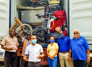 Rotary Club  donates US$500,000 in medical supplies to isolation centre