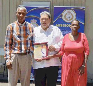RSVGPF  honours fallen colleague