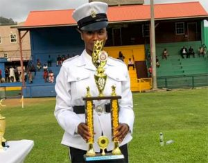 Police Force pass out 105 recruits - a record for the organization