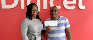 "First winners drawn in Digicel's ""Ease the Squeeze"" summer promotion"