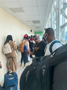 Quarantined AA passenger raises some concerns